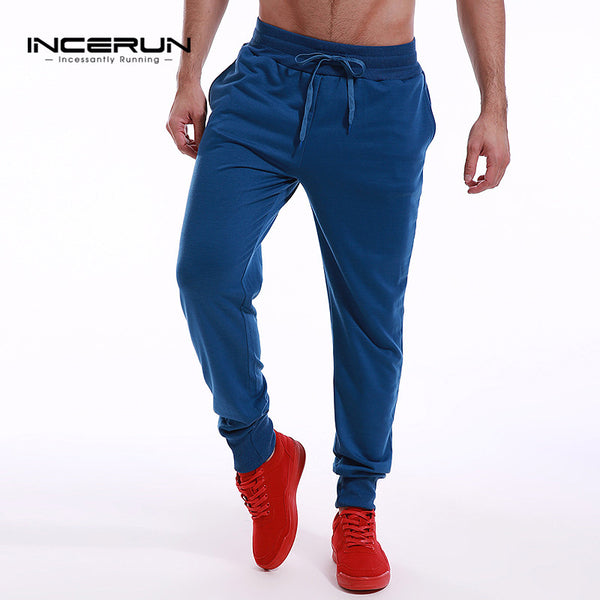 Mens Fitness Workout Sweatpants - Tracksuit Bottoms Sportswear