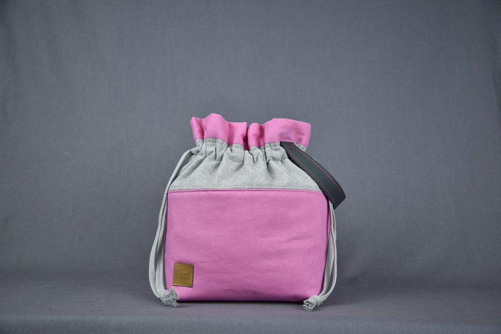 Large Project Bag - Pretty Pink