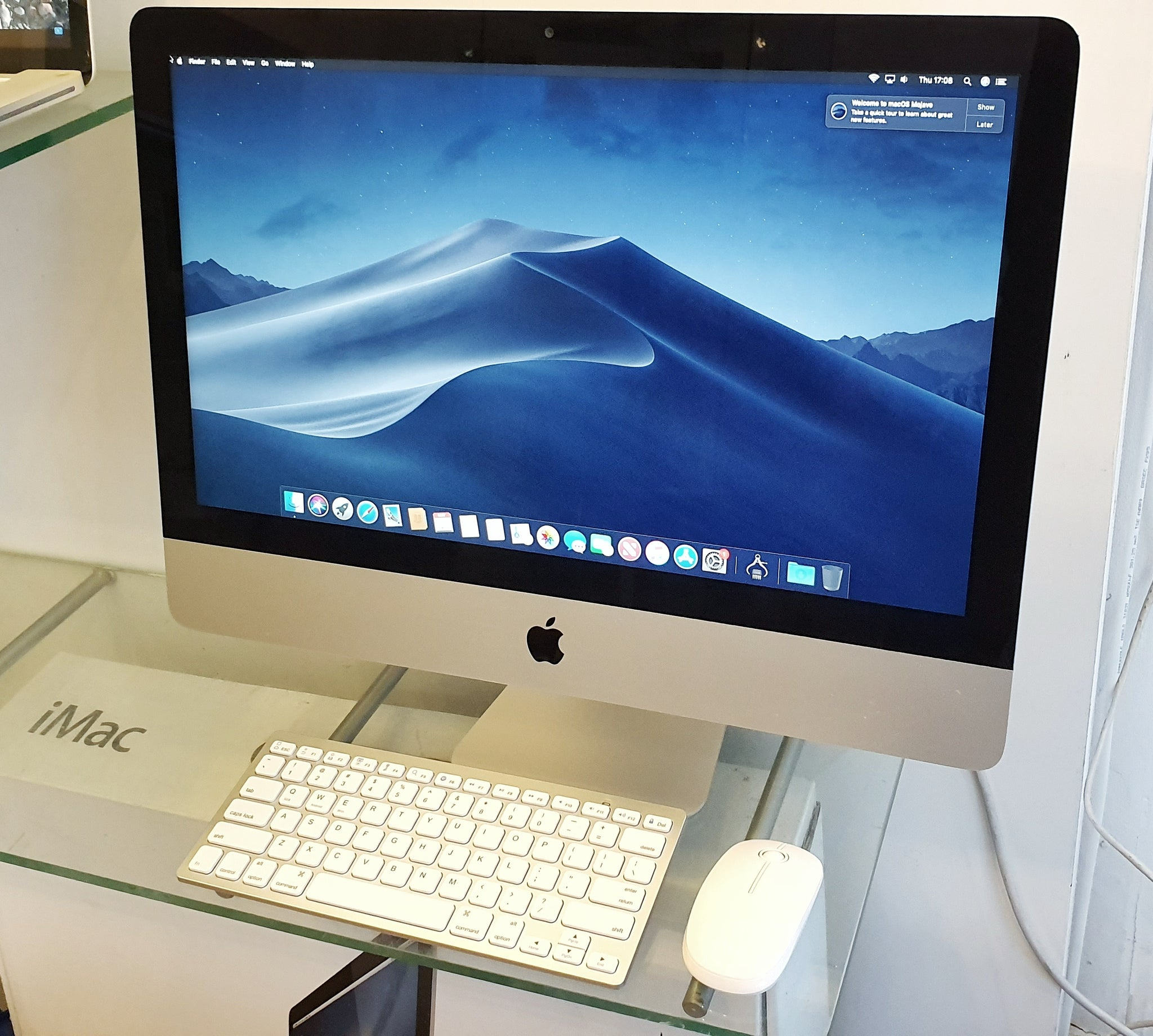 "Apple iMac Slim 21.5"" A1418 i5 16GB 500GB SSD #10881"