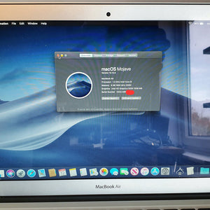 "2013 MacBook Air 13"" A1466 i5 8GB 256 SSD #10941"