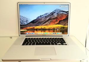 "2011 MacBook Pro 17"" A1297 i7 8GB 500GB SSD #10987"