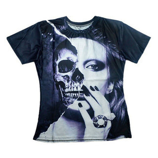 Skull Reflection Party T-Shirt
