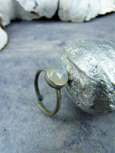 Adjustable moonstone ring - Arborea Jewellery
