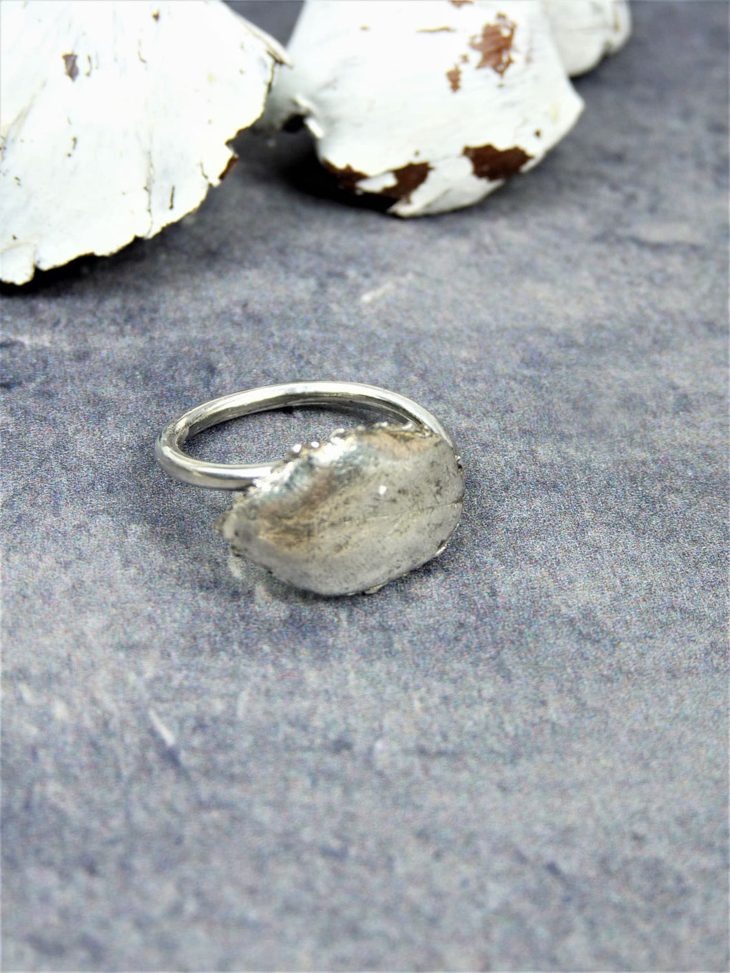 Beech leaf ring - Arborea Jewellery
