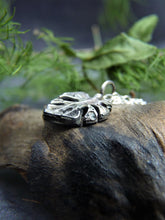 Silver cheese plant necklace - Arborea Jewellery