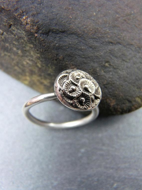Unique patterned ring - Arborea Jewellery