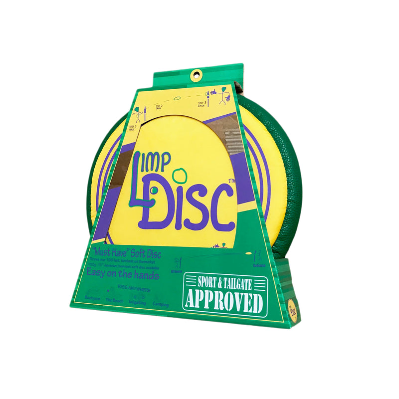 Poleish Sports Bottle Bash Limp Disc Ultimate Soft Throwing Disc