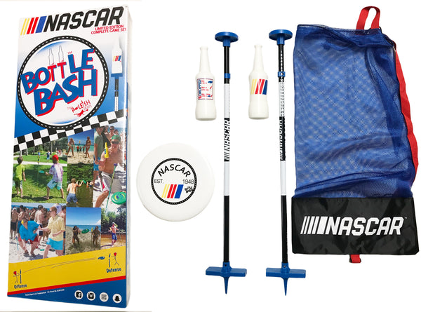 Bottle Bash Nascar Game Set