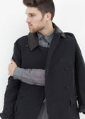 Taban Coat in Black