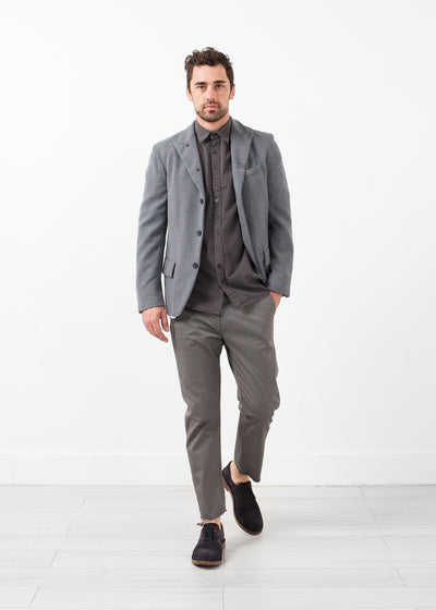 Washed Wool Blazer
