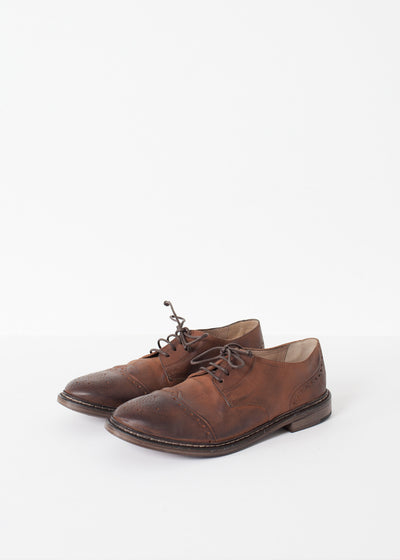 Marrone Oxford in Brown