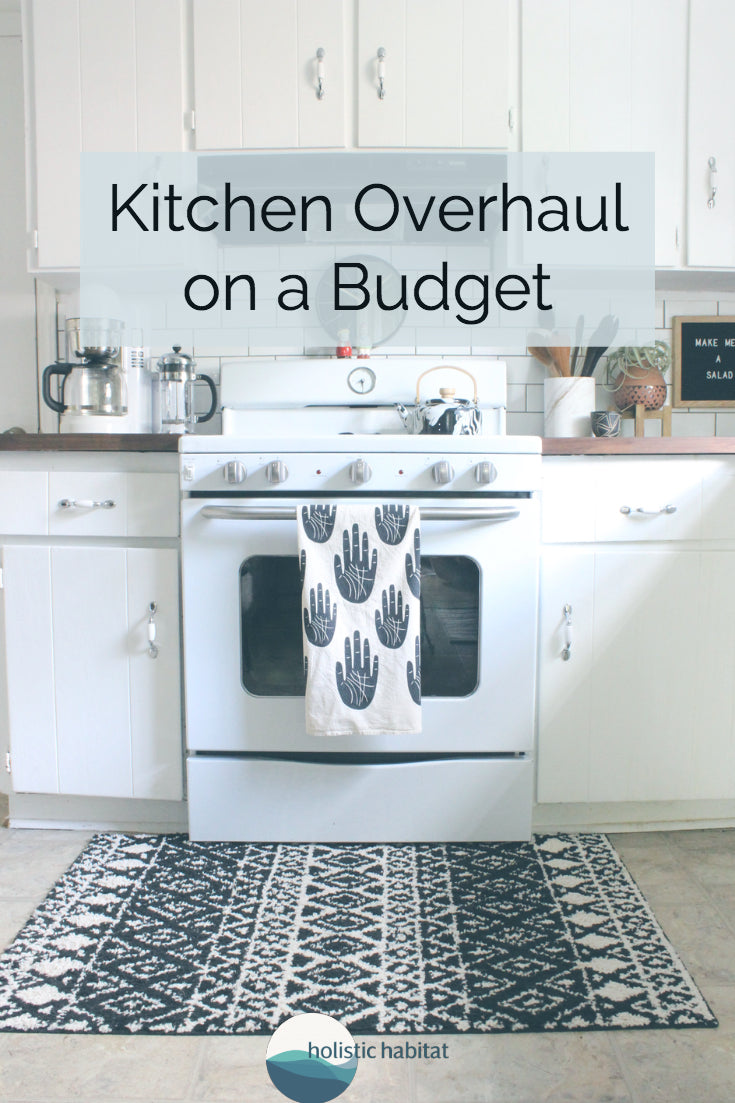 Kitchen Overhaul on a Budget