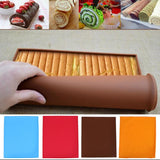 1pc Non-stick Silicone Oven Mat Cake Roll Mat Baking Mat Baking Cake Pad Roll Pad Bakeware Baking Tools Kitchen Accessories E5M11pc Non-stick Silicone Oven Mat Cake Roll Mat Baking Mat Baking Cake Pad Roll Pad Bakeware Baking Tools Kitchen Accessories E5M1