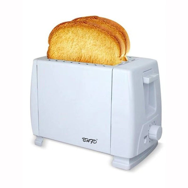 220V Stainless steel electric toaster household automatic baking bread maker breakfast machine toast sandwich grill oven 2 slice
