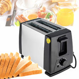 230V 750W 6 Modes EU Plug Automatic Toaster Bread Oven Baking Breakfast Machine Stainless steel 2 Slices Slots Bread Maker230V 750W 6 Modes EU Plug Automatic Toaster Bread Oven Baking Breakfast Machine Stainless steel 2 Slices Slots Bread Maker