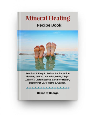 Mineral Healing Recipe Book & MindmapsMineral Healing Recipe Book & Mindmaps