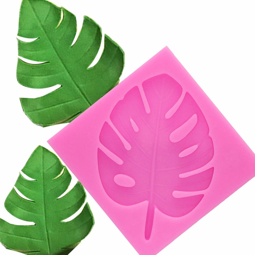 3D tree leaf molds Sugarcraft Leavf silicone mold Turtle leaf fondant cake decorating tools Leaves chocolate gumpaste mold T1134