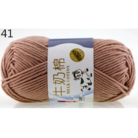 50g Milk Sweet Soft Cotton Baby Knitting Wool Yarn Milk Cotton Thick Yarn for Knitting Scarf Hand Knitting Crochet Yarn50g Milk Sweet Soft Cotton Baby Knitting Wool Yarn Milk Cotton Thick Yarn for Knitting Scarf Hand Knitting Crochet Yarn