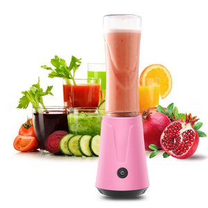 ANIMORE Portable Electric Juicer Blender Fruit Baby Food Milkshake Mixer Meat Grinder Multifunction Juice Maker Machine JU-02B