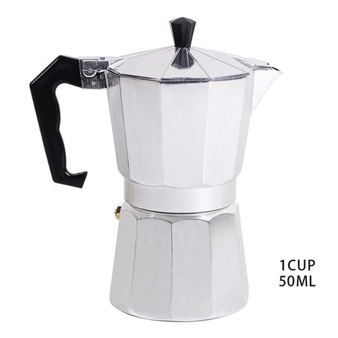 Aluminum 1/3/6/9/12 Cup Latte Mocha Coffee Pot Stove Top Espresso Maker Tool Easy Clean for Home Office Coffee & Tea ToolsAluminum 1/3/6/9/12 Cup Latte Mocha Coffee Pot Stove Top Espresso Maker Tool Easy Clean for Home Office Coffee & Tea Tools
