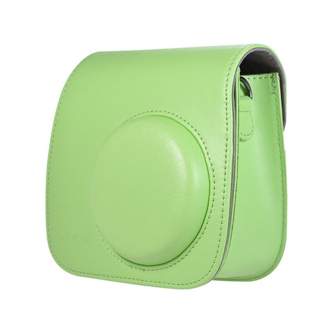 Andoer PU Instant Camera Bag Case with Strap for Fujifilm Instax Mini 8/9/8+ Flamingo Pink/Blue/White/GreenAndoer PU Instant Camera Bag Case with Strap for Fujifilm Instax Mini 8/9/8+ Flamingo Pink/Blue/White/Green