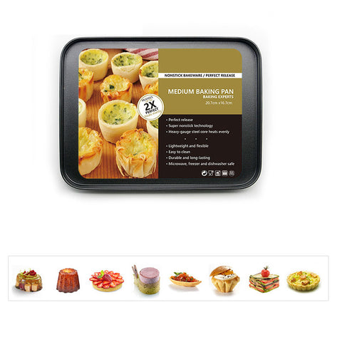 Baking Pan, Non-stick Carbon Steel Cookie Sheet Pan, FDA Approved for Oven Roasting Meat Bread Jelly Roll Battenberg Pizzas PastBaking Pan, Non-stick Carbon Steel Cookie Sheet Pan, FDA Approved for Oven Roasting Meat Bread Jelly Roll Battenberg Pizzas Past