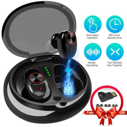 Best Newest 6 hours play Bluetooth 5.0 Headphones Wireless Headset Earphone With Charging Box For xiaomi all smartphone ear buds