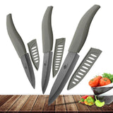 Ceramic Knife 3 4 5 inch Set Zirconia Black Blade Kitchen Chef Knives Three Piece Set Fruit Vegetable Color Anti-Slip HandleCeramic Knife 3 4 5 inch Set Zirconia Black Blade Kitchen Chef Knives Three Piece Set Fruit Vegetable Color Anti-Slip Handle