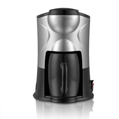 DMWD Electric Coffee Maker Household Mini Single Cup 300ML DIY American Drip Black Coffee Machine Tea Bolier Cafe Pot EU US plugDMWD Electric Coffee Maker Household Mini Single Cup 300ML DIY American Drip Black Coffee Machine Tea Bolier Cafe Pot EU US plug