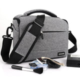 DSLR Camera Bag Fashion Polyester Shoulder Bag Camera Case For Canon Nikon Sony Lens Pouch Bag Waterproof Photography Photo BagDSLR Camera Bag Fashion Polyester Shoulder Bag Camera Case For Canon Nikon Sony Lens Pouch Bag Waterproof Photography Photo Bag