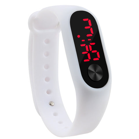 Fashion Outdoor Simple Sports Red LED Digital Bracelet Watch Men Women Colorful Silicone Watches Kids Children Wristwatch GiftFashion Outdoor Simple Sports Red LED Digital Bracelet Watch Men Women Colorful Silicone Watches Kids Children Wristwatch Gift