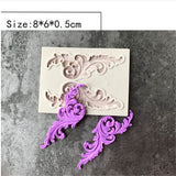 Flower Lace European  Lace Silicone Mold Fondant Cake Decorating Tools Chocolate Gumpaste Mould Bakeware Wedding DecorFlower Lace European  Lace Silicone Mold Fondant Cake Decorating Tools Chocolate Gumpaste Mould Bakeware Wedding Decor