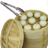 Free Shipping Durable Cookware Bamboo Steamer Chinese Kitchen Cookware Fish Rice Dim Sum Basket Rice Pasta Cooker Set With LidFree Shipping Durable Cookware Bamboo Steamer Chinese Kitchen Cookware Fish Rice Dim Sum Basket Rice Pasta Cooker Set With Lid