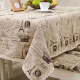 GIANTEX Crown Pattern Decorative Table Cloth Cotton Linen Lace Tablecloth Dining Table Cover For Kitchen Home Decor U1233GIANTEX Crown Pattern Decorative Table Cloth Cotton Linen Lace Tablecloth Dining Table Cover For Kitchen Home Decor U1233