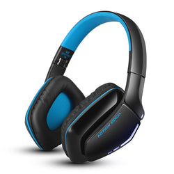 KOTION EACH B3506 Noise Isolation Bluetooth Stereo Headphone Foldable Best Wireless Music Headset with Mic 3.5mm Cable for Phone