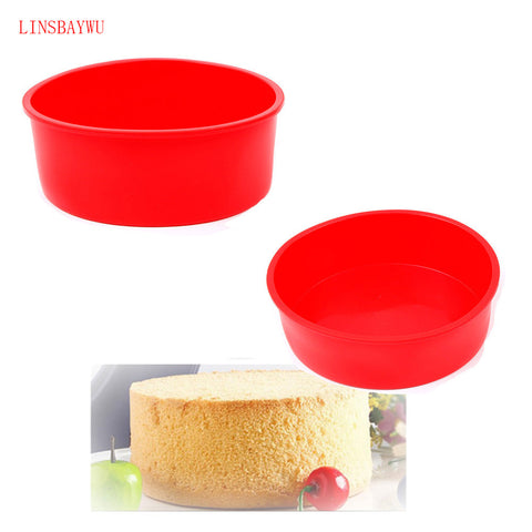 LINSBAYWU 1 pc Round Shape Cake Mold Big Size DIY Silicone Non-Stick Muffin Cake Pan Bread Chocolate Making Mold Baking PanLINSBAYWU 1 pc Round Shape Cake Mold Big Size DIY Silicone Non-Stick Muffin Cake Pan Bread Chocolate Making Mold Baking Pan