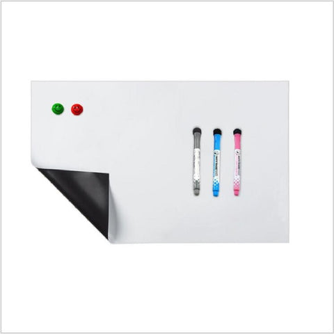 Magnet whiteboard A3 soft magnetic board, Dry Erase drawing and recording board For Fridge RefrigeratorMagnet whiteboard A3 soft magnetic board, Dry Erase drawing and recording board For Fridge Refrigerator
