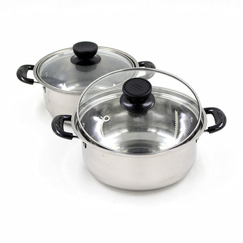Quality stainless steel soup pot non stick cookware set pans pots saucepan cooking casserole non magnetic pot brew kettle 1pcsQuality stainless steel soup pot non stick cookware set pans pots saucepan cooking casserole non magnetic pot brew kettle 1pcs