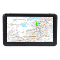 Rectangle 706 7 inch Truck Car GPS Navigation Navigator with Free Maps Win CE 6.0 / Touch Screen / E-book / Video / Audio