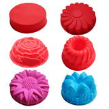 Silicone big Cake Molds Flower Crown shape Cake Bakeware Baking Tools 3D Bread Pastry mould Pizza Pan DIY birthday wedding partySilicone big Cake Molds Flower Crown shape Cake Bakeware Baking Tools 3D Bread Pastry mould Pizza Pan DIY birthday wedding party