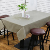 Solid Table Cloth Table Cover Multifunctional Tablecloth Rectangle Linen Cotton Waterproof Europe Woven Home Kitchen DecorationSolid Table Cloth Table Cover Multifunctional Tablecloth Rectangle Linen Cotton Waterproof Europe Woven Home Kitchen Decoration
