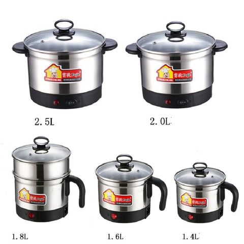 free shipping Thermal Cooker electric casserole  cooking pot  stainless steel  simple mini boil potfree shipping Thermal Cooker electric casserole  cooking pot  stainless steel  simple mini boil pot