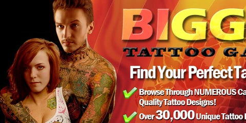 Biggest Tattoo GalleryBiggest Tattoo Gallery