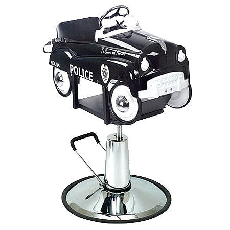 Pibbs KidsPibbs Kid's Police Car Barber Chair - Buy Online at Bright Barbers Barber Chairs