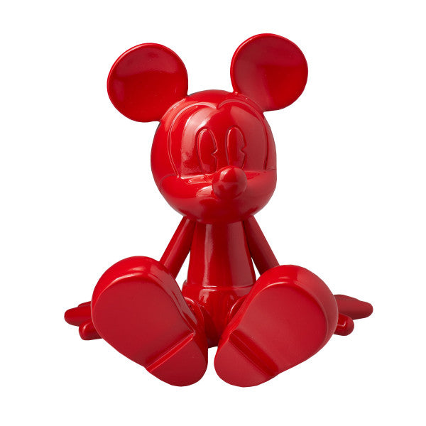 Sitting Mickey x Marcel Wanders. Red 12 cm