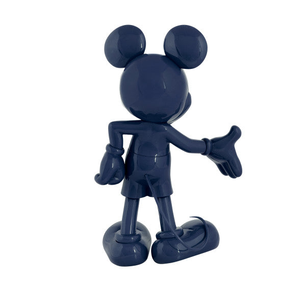 Mickey Welcome Navy Blue. 30 cm