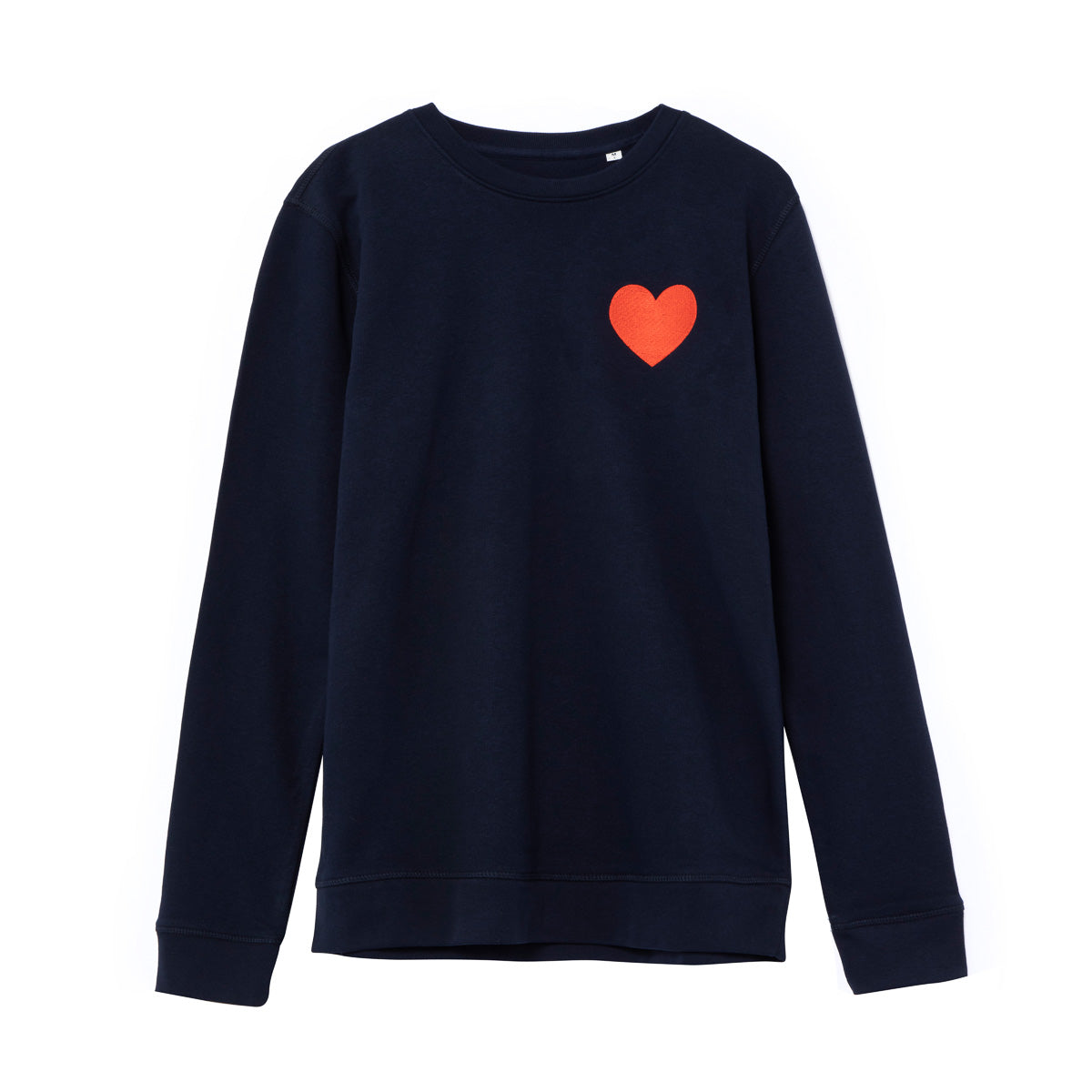 Sudadera Navy Big Heart