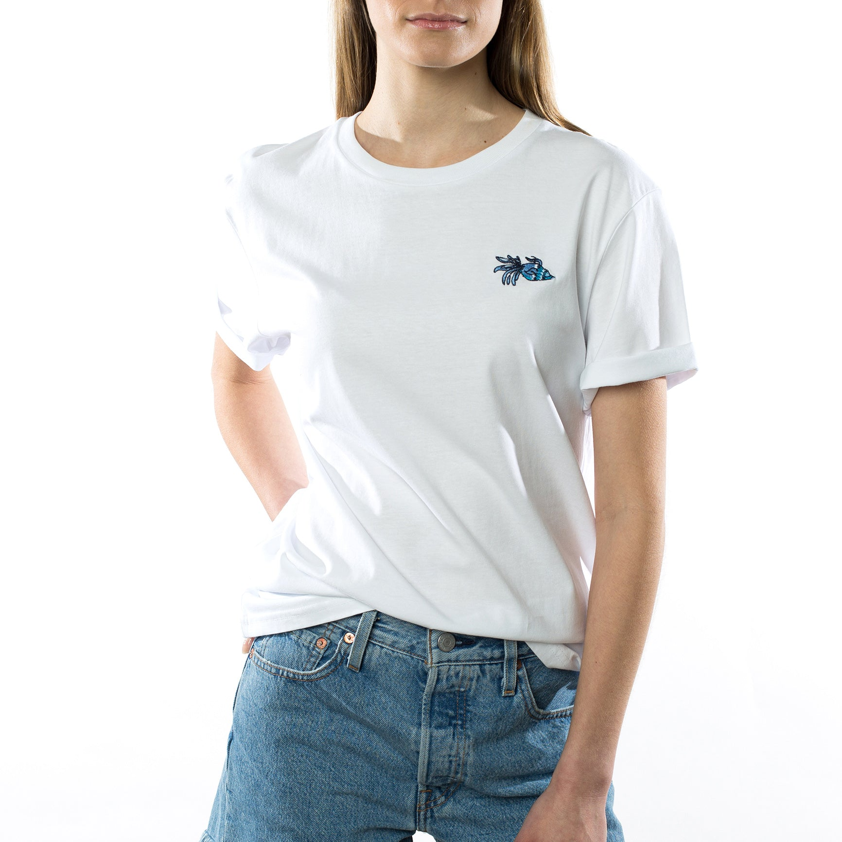 Camiseta Lucky Fish Blanca