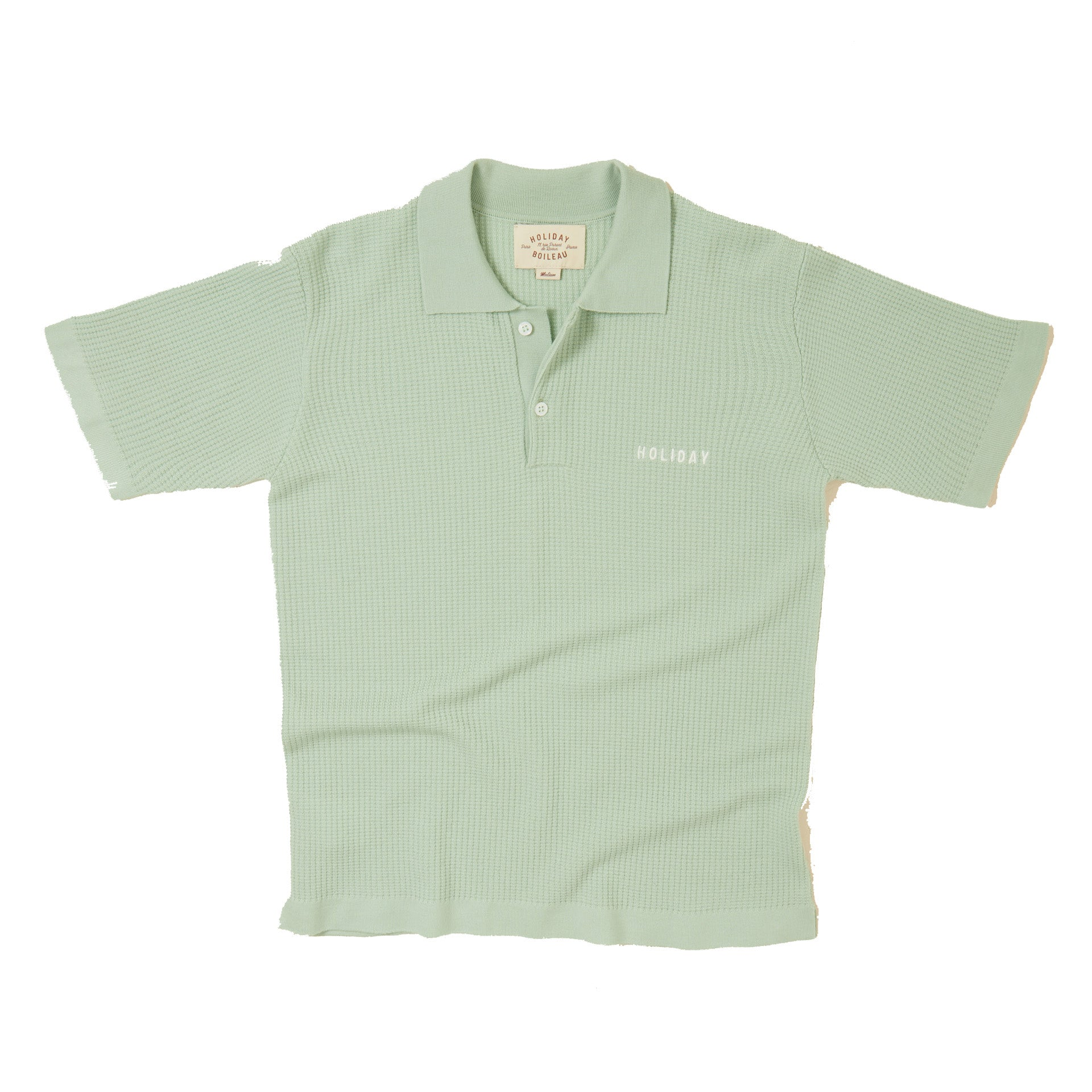 The Jagger Polo by Holiday Boileau. Verde