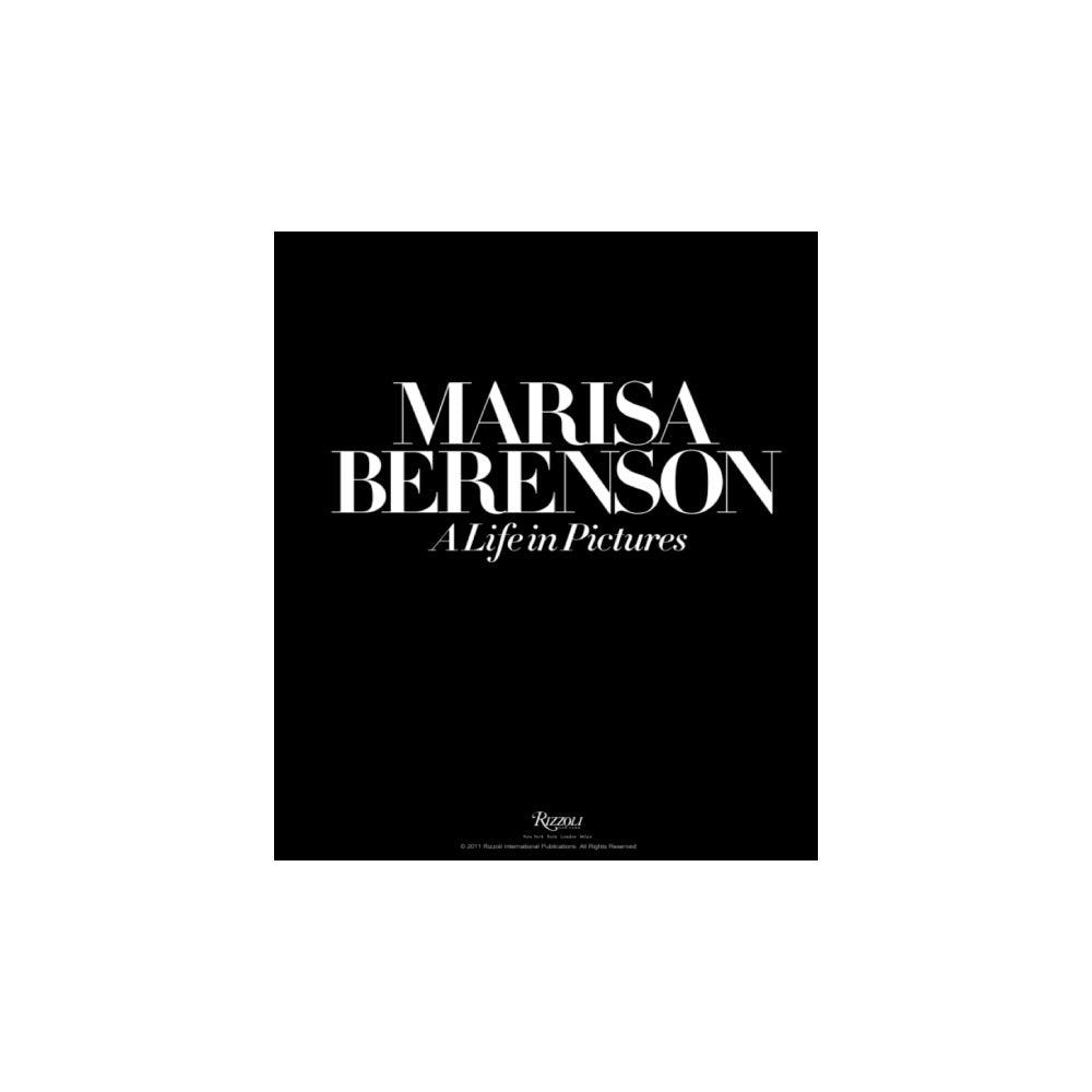 Marisa Berenson. A Life In Pictures